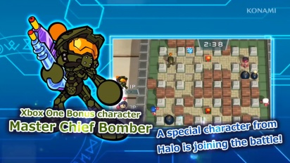 Super Bomberman R - Master Chief Reveal Trailer