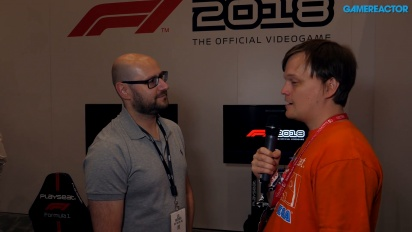 F1 2018 - Intervista a Lee Mather
