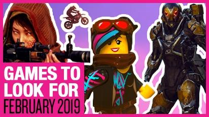 Giochi da tenere d'occhio - Febbraio 2019