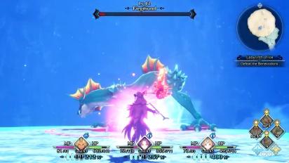 Trials of Mana - Fiegmund Boss Battle (PlayStation Underground)