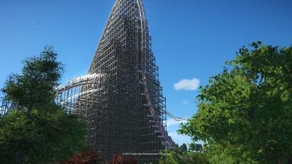 Planet Coaster - Cedar Point Steel Vengeance Hyper Hybrid Coaster Trailer