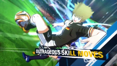 Captain Tsubasa: Rise of New Champions - Release Date Reveal Trailer