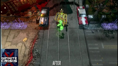 Infinite Crisis - September-Update: Gaphical Comparison