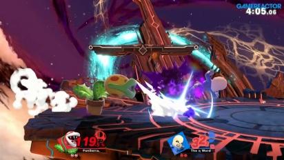 Super Smash Bros. Ultimate - Gameplay Online con Piranha Plant