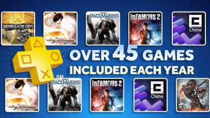 Playstation Plus - E3 2012 Update Trailer
