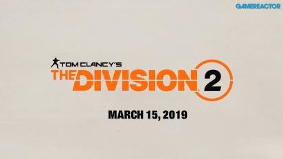 The Division 2 - La location del press tour a Parigi
