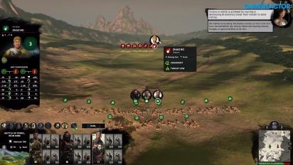 Total War: Three Kingdoms - Campagna Gameplay