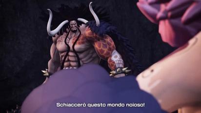 One Piece: Pirate Warriors 4 - Kaido e Big Mom Trailer (italiano)