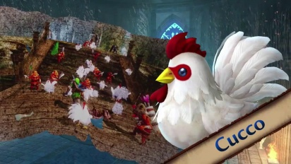 Hyrule Warriors - Cucco Trailer