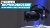 HTC Vive Cosmos Elite with Vive Elite Controllers - Quick Look