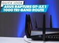 Asus Rapture GT-AX1 1000 Tri-band Router - Quick Look