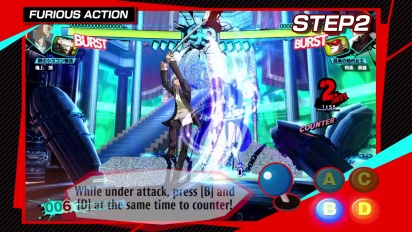 Persona 4: Arena Ultimax - Tutorial 2: Basic Moves