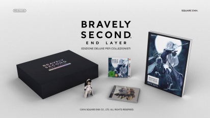 Bravely Second: End Layer - Trailer della Deluxe Collector's Edition