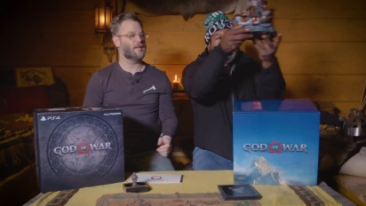 God of War - Collectors Edition Unboxing PS4