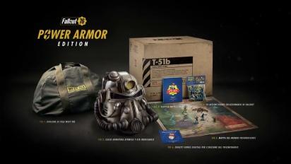 Fallout 76 - Trailer E3 2018 Edizione Armatura Atomica