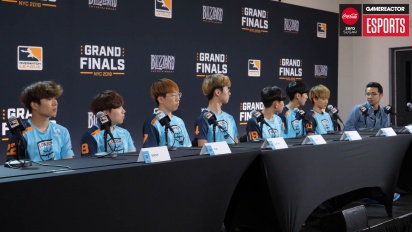 Overwatch League Finals - London Spitfire Day One Press Conference