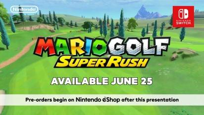 Mario Golf: Super Rush - Announcement Trailer