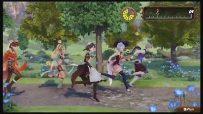 Nelke & the Legendary Alchemists - Research Gameplay