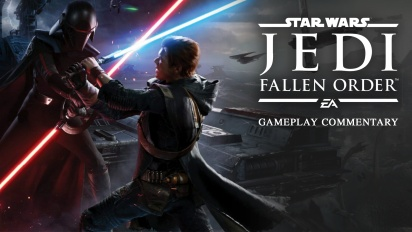 Star Wars Jedi: Fallen Order - Gameplay con commento