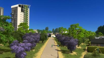 Cities: Skylines - Green Cities Announcement Trailer