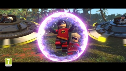Lego The Incredibles - Parr Family Gameplay Trailer