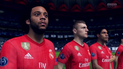 FIFA 19 - Juventus vs Real Madrid Gameplay su Switch