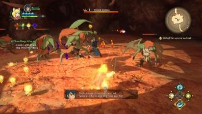 Ni no Kuni II: Revenant Kingdom - Wyvern Warlord Gameplay