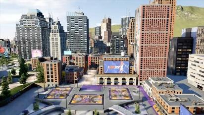 NBA 2K22: The City Trailer (italiano)