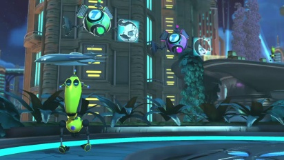 Ratchet & Clank: All 4 One - Grute Boss Battle Trailer