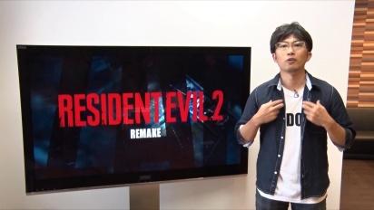 Resident Evil 2 Remake – Special Message from Producer Yoshiaki Hirabyashi
