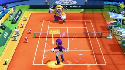 Mario Tennis: Ultra Smash - Gameplay Scalata dei campioni - I primi 6 tiebreaks con Waluigi