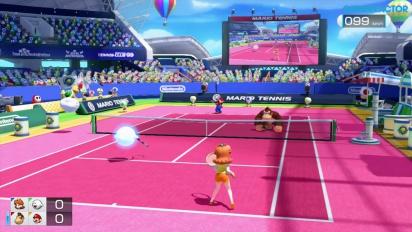 Mario Tennis: Ultra Smash - Tennis classico in doppio gameplay - Daisy & Boo vs DK & Mario