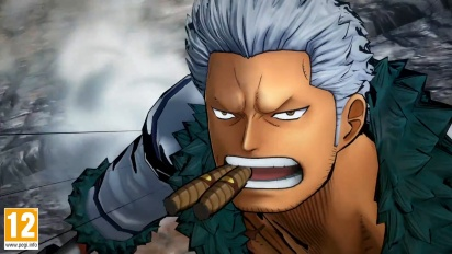 One Piece: Burning Blood - Smoker Move Set - Trailer
