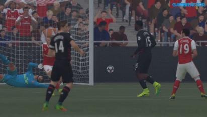FIFA 17 - Partita completa Arsenal vs Liverpool (gameplay)