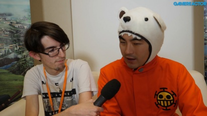 One Piece: World Seeker - Intervista a Koji Nakajima