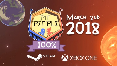Pit People - Release Date Trailer