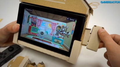 Nintendo Labo: Kit Assortito- House Toy-Con Assemblaggio e Gameplay