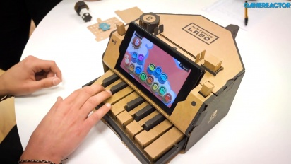 Nintendo Labo: Kit Assortito - Piano Toy-Con Gameplay