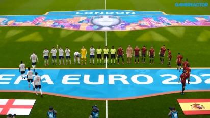 eFootball PES 2020 - UEFA Euro 2020 Inghilterra vs Spagna