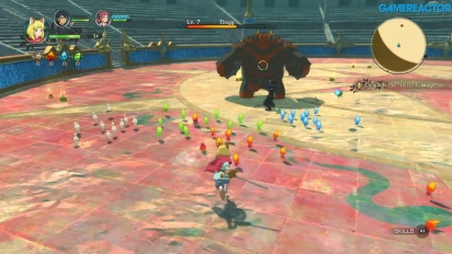Ni no Kuni II: Il Destino di un Regno - King's Cradle - Prova di Coraggio Gameplay