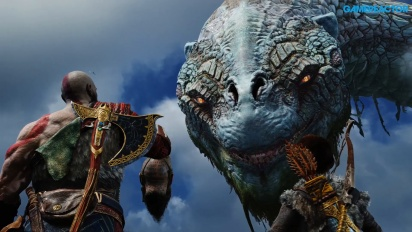 God of War - Parla con il Serpente del Mondo (SPOILER)
