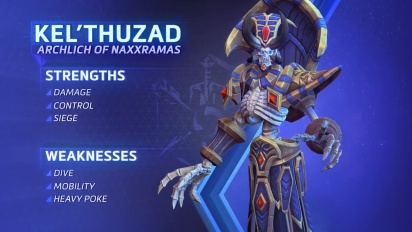 Heroes of the Storm - Kel'Thuzad Spotlight