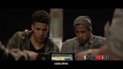 NBA 2K18 - Lifestyle Trailer su Switch