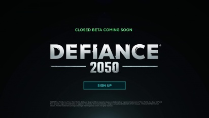 Defiance 2050 - Announcement Dev Update
