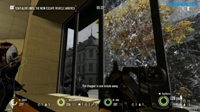 Payday 2 - Escape gameplay on Nintendo Switch