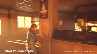 Control - Early Prototype Vs E3 2018 Demo walkthrough (WIP)