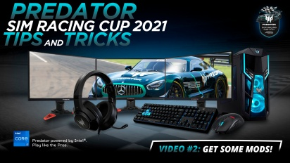 Acer Predator Sim Racing Cup - Predator Sim Racing Cup 2021 - Video #2:Get Some Mods!