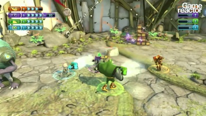 Ratchet & Clank: All 4 One - 4 player co-op-gameplay