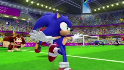 Mario e Sonic ai Giochi Olimpici di Londra 2012 - Trailer italiano