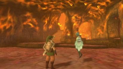 The Legend of Zelda: Skyward Sword - Volcano Summit gameplay